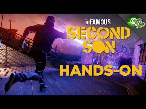 INFAMOUS: SECOND SON Gameplay Impressions Adam Sessler Goes Hands On with a New Build