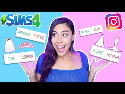 My Instagram Followers Create My Sims WEDDING - Sims 4 DPVD FINALE