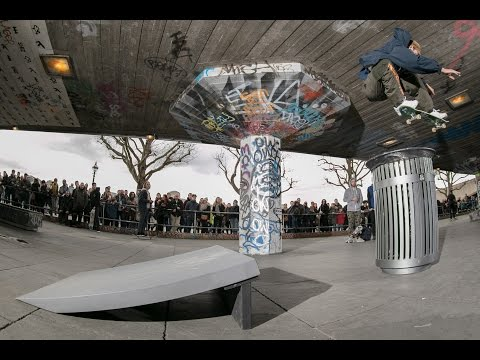 'Spread the Love' Josh Kalis x Slam City Skates - Southbank session - March 4th 2017
