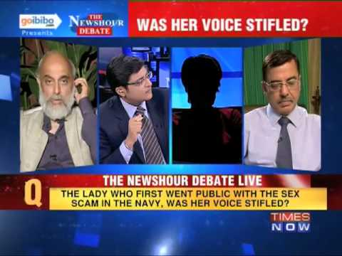 The Newshour Debate: Will The Indian Navy Conduct A Fair Probe In The Sex Scandal? (the Full Debate) video