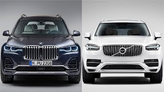 2019 BMW X7 vs Volvo XC90