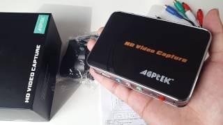 AGPtek HD Game Capture Review and Setup Guide + Gameplay Sample ( EZCAP 280 )
