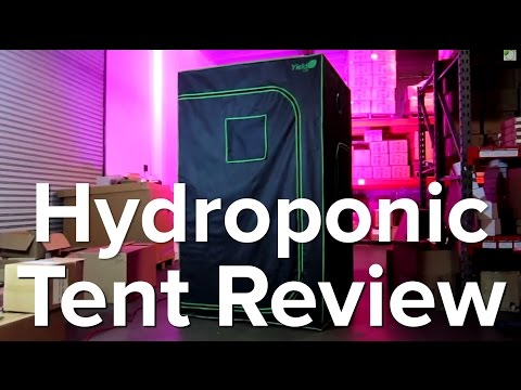 Hydroponic Indoor Grow Tent Review   Great For Grow Lights