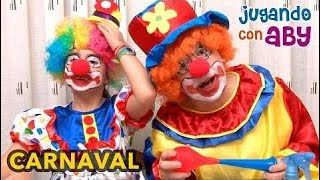 Special Carnival. We Dressed As A Clown And We Painted Our Faces