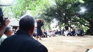 川平豊年祭の「びっちゅる石」