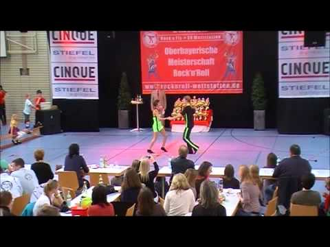 Lisa Stufler & Dominik Kolmer - Oberbayerische Meisterschaft 2012