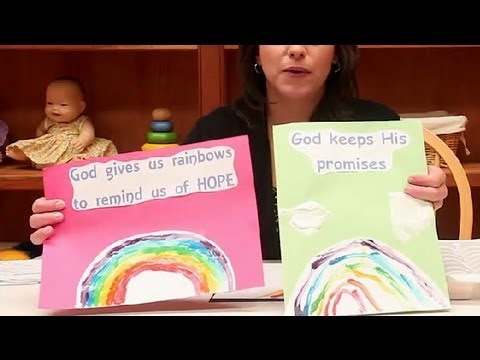 God's Rainbow Promise Preschool Craft : Preschool Crafts & Activities