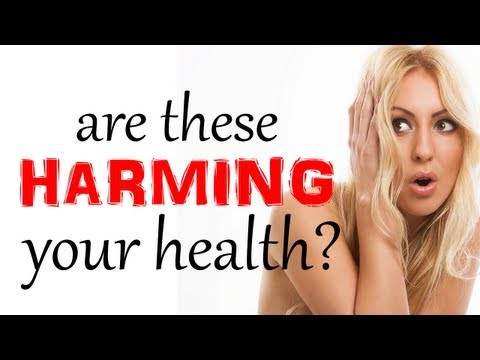 Beauty Habits That Harm Your Health