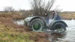 Нечто по воде \ homemade ATV \ meanwhile in Russia