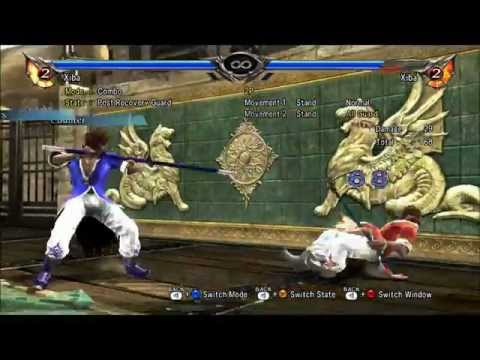 Soul Calibur 5 Xiba Combo Video 80+ Combos