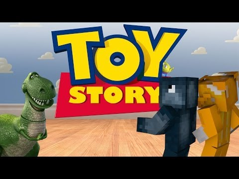 Minecraft Xbox - Toy Story Adventure Map - Andy's Room [1]