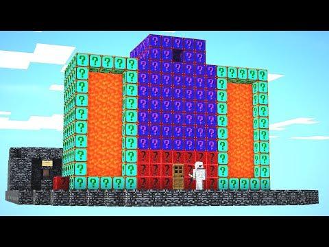 Ein Haus bauen in Lucky Block Bedwars 😂