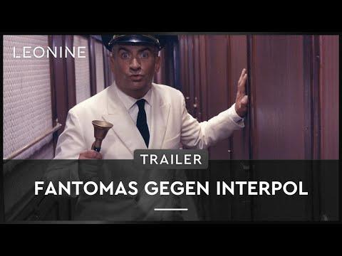 Fantomas gegen Interpol - Trailer (deutsch/german) streaming vf