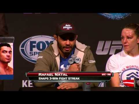 UFC Fight For The Troops: Kennedy vs. Natal Post Fight Press Conference