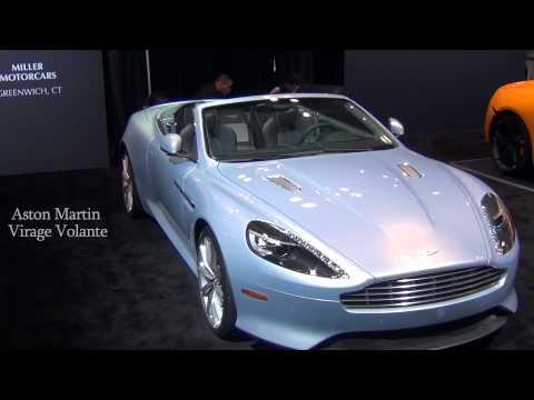 Aston Martin Virage Volante и Rapide на автосалоне в Нью Йорке 2012