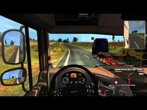 Euro Truck Simulator 2 MP #7 Tak Się Spiesze Na Firmowy Konwój