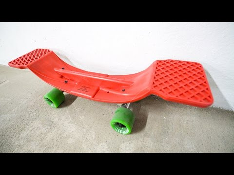 THE EXERCISE SKATEBOARD!!  *Can It Kickflip?!*
