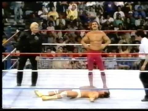WWF History - Ravishing Rick Rude & Jake Roberts part II (tights off scene)