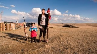 Keystone XL: fear and enthusiasm fill the plains of eastern Montana – video