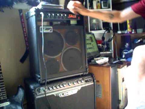 Samick Bass Amp Samick Sm25b Amp Moded Speaker