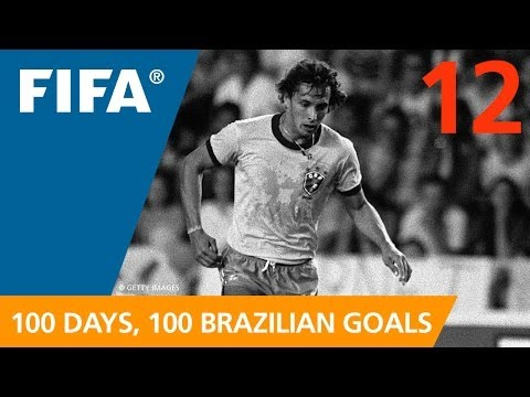 Delightful and delicate, this awesome chip at the 1982 FIFA World Cup Spain� left Scotland's goaltender dumbfounded. FIFA on YouTube is happy to bring you the 100 BEST BRAZILIAN GOALS IN...