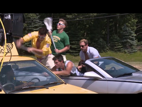 Grown Ups 2: Behind the Scenes (Broll) Adam Sandler, Taylor Lautner, Chris Rock