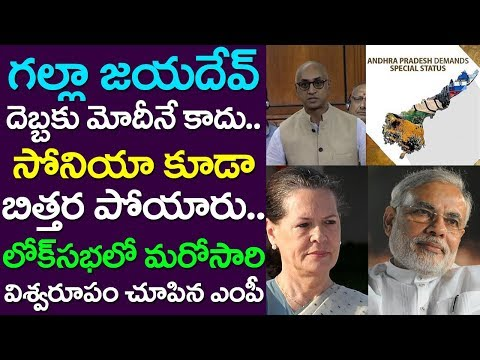 Guntur MP Galla Jayadev Mind blowing Attack On PM Modi And Sonia Gandhi | Lok Sabha | Take One Media