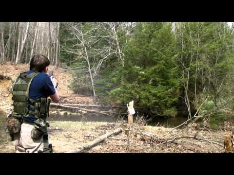 Shooting Hi-Point JHP .45 ACP 4.15.2011