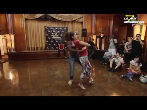 Carlos & Fernanda  Zouk Demo - Stay with me -  LA Zouk Congress 2015   Demo 2