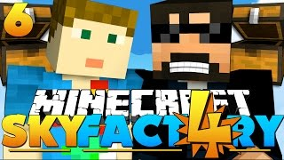 Minecraft: SkyFactory 4 -CRAINER LIKES BIG CHESTS?! [6]