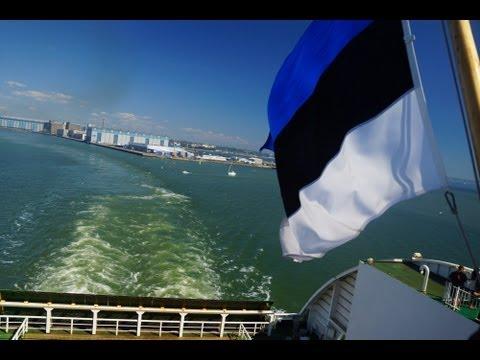 Ferry Cruise ride from Helsinki, Finland to Tallinn, Estonia on board Tallink Cilja MS Star