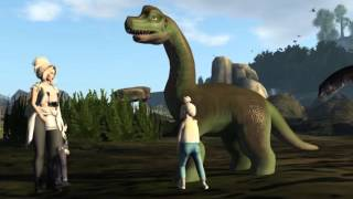 JURASSIC WORLD - Second Life Machinima