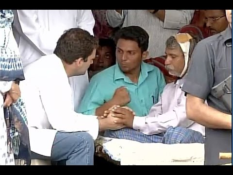 Rahul Gandhi Meets Family Members of Una Violence Victims