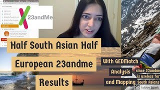 23andMe Results for Half South Asian Half European (Bengali German)