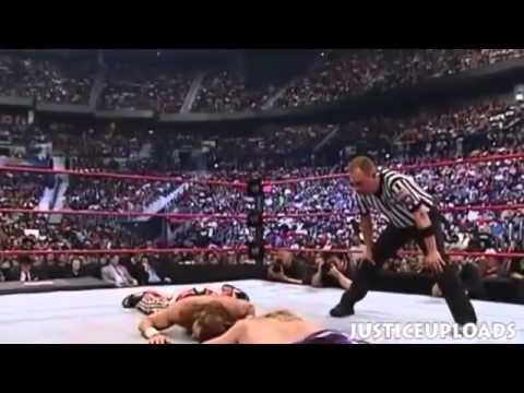 John Cena Vs Randy Orton Vs Edge Vs Shawn Michaels Backlash 2007 video