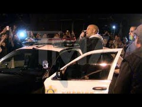 Vin Diesel Gets Emotional at Paul Walker Crash Site