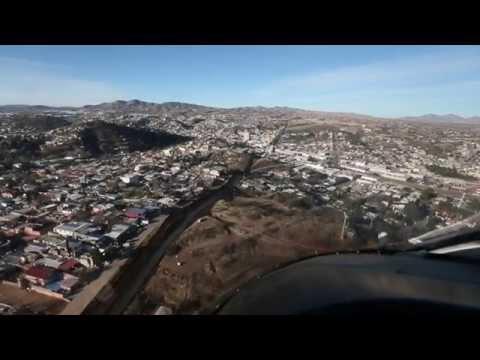 Arizona-Mexico Border from the air
