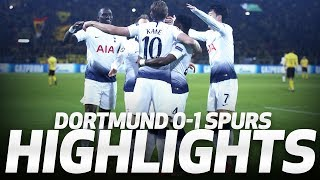 HIGHLIGHTS | DORTMUND 0-1 SPURS UEFA Champions League Round of 16 second leg