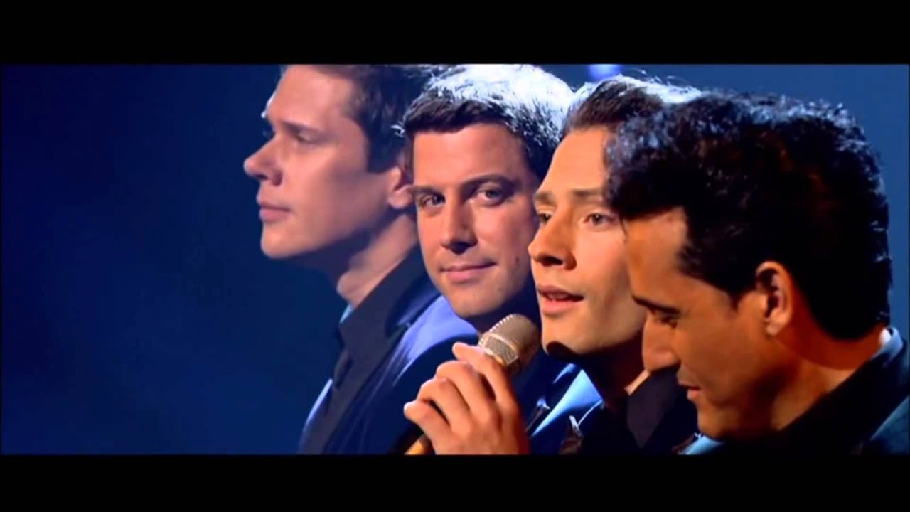 Il divo hallelujah with lyrics live at the london - Il divo at the coliseum ...