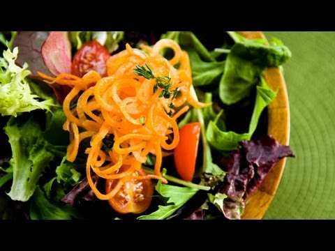 How to Make a Delicious Simple Salad | P. Allen Smith Cooking Classics