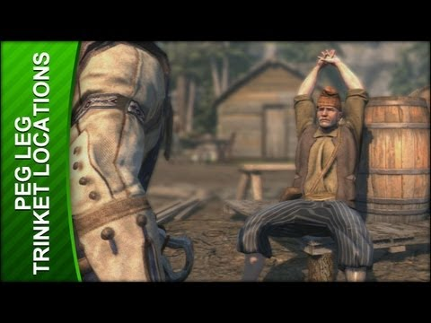 Assassin's Creed 3 Walkthrough - Peg Leg Trinket Locations
