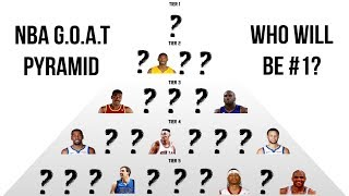Creating An NBA G.O.A.T Pyramid