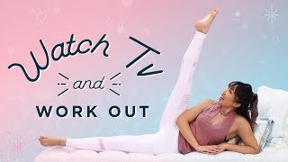The Best Workout for Watching TV! | At Home Toning Exercises