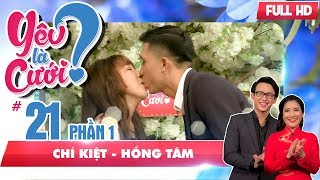 An interesting love story of 'the boss and employee'   Chi Kiet - Hong Tam  YLC #21 😂