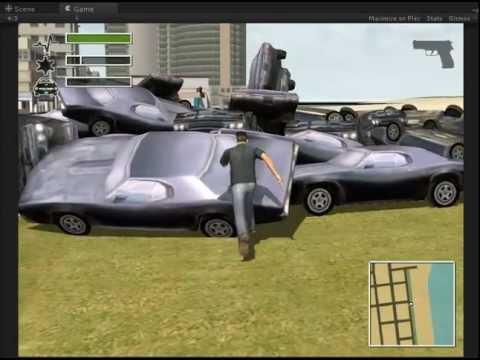 DRIV3R - Unity3D Scene
