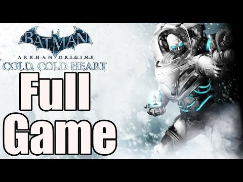 Batman Arkham Origins Cold Cold Heart Full Game Walkthrough / Complete Walkthrough