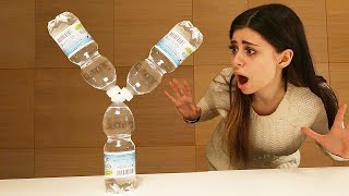 YouTuber Edition (Bottle Flip Trick Shots)