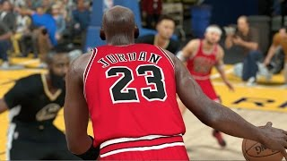 Can One 7 Foot 7 Michael Jordan Defeat A Team Of Current NBA All Stars? NBA 2K17 Challenge