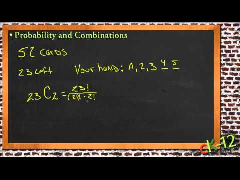 Probability and Combinations: A Sample Application