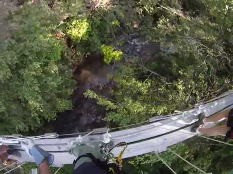 TreeTops Canopy Zip Line Tour.wmv